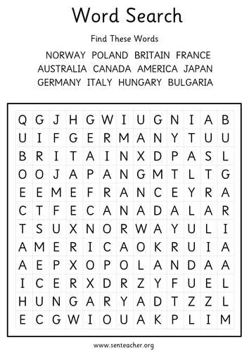 World War 2 Grids And Word Search By Languageisheartosay