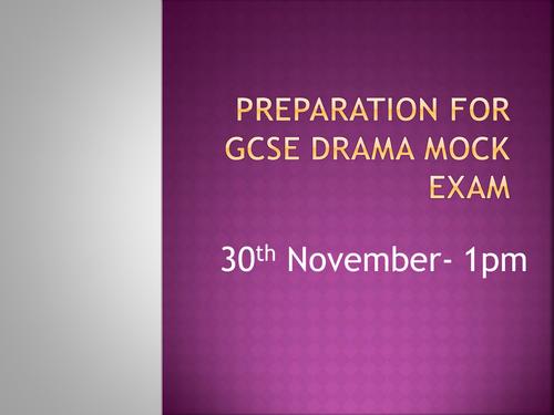 Aqa drama written paper help