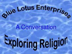 Exploring Religion - A Conversation 145 with text animation.ppt