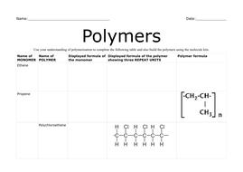 Polymer worksheet.pdf
