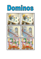 The large family themed dominos