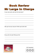 Mr Large in charge book review