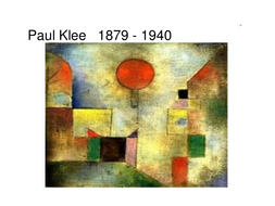 Paul Klee, ppt of images of his work