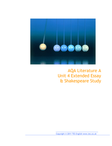 aqa english literature a coursework marking scheme