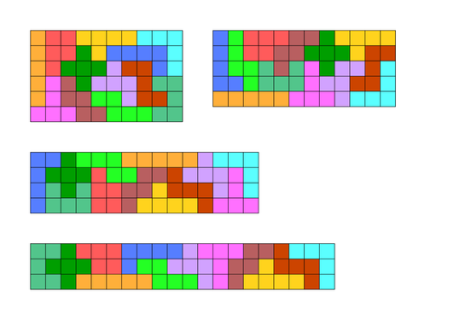 Pentomino puzzles activity by kmbheck - Teaching Resources - TES