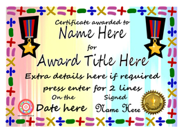 Editable maths certificates by primaryclass teaching resources tes sample collectiong mathscertificatec yelopaper Gallery
