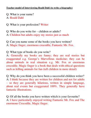 Essay for primary students