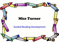 Guided Reading Development ideas