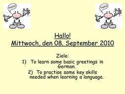 German greetings presentation by mflteacher1 teaching resources tes german greetings presentation m4hsunfo