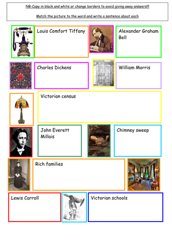 Victorian Pack Worksheets and Activities by sairer  Teaching