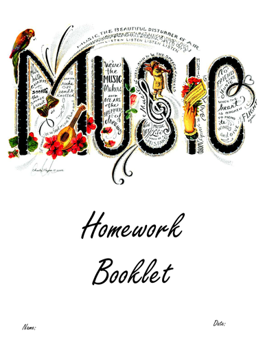 homework music playlist
