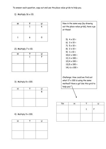 Multiplication Worksheets : multiplication worksheets x10 ...