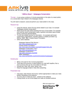 ARKive News - Galapagos conservation - Student handout.doc