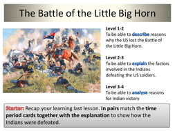 what caused the battle of little bighorn