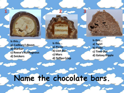QUIZ chocolate bars.pptx