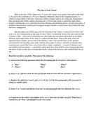 IGCSE first language test
