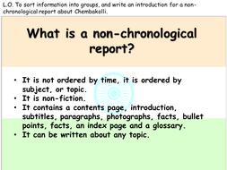 how to write the introduction of a report