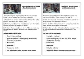Stave 4 of A Christmas Carol Worksheet