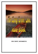 Camp Green Lake Rule Book