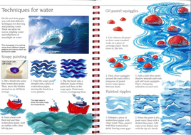 Seascape 'soap' painting step by step guide
