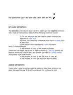 Colon and Semi-colon definition and correction