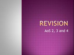 Listening Exam Revision aid