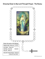 Colour the Rosary worksheet