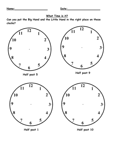 Time by danni_n_84 - Teaching Resources - Tes
