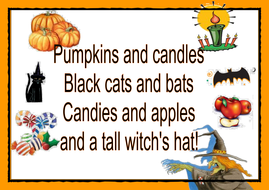 A Halloween Poem By Martuska Teaching Resources