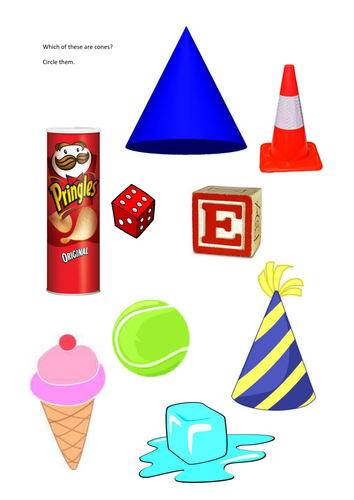Identifying real life 3d shapes by groov_e_chik - Teaching ...