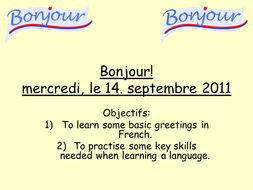 Bonjour french greetings by mflteacher1 teaching resources tes bonjour french greetings m4hsunfo