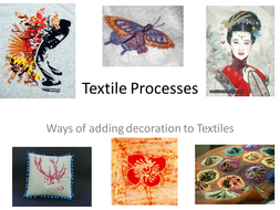 Textile Processes