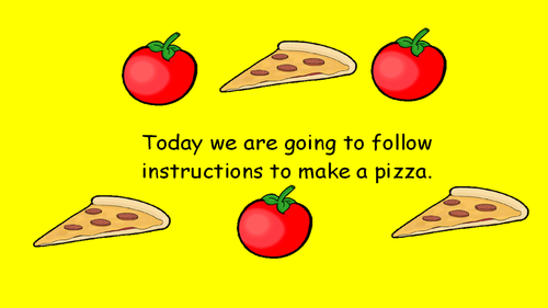 KS1 Writing Instructions - Pizza by jreadshaw - Teaching ...