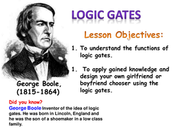 The Introduction to a Logic Gates