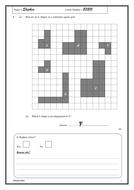 KS3 Maths: Transformations worksheet