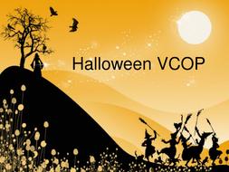 Halloween VCOP Writing Exercises