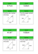 KS4 Maths Trigonometry Treasure Hunt Game