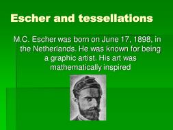 Eschers tessellations