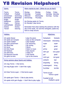 revision sheet for hobbies by joolz47 uk teaching resources tes. Black Bedroom Furniture Sets. Home Design Ideas