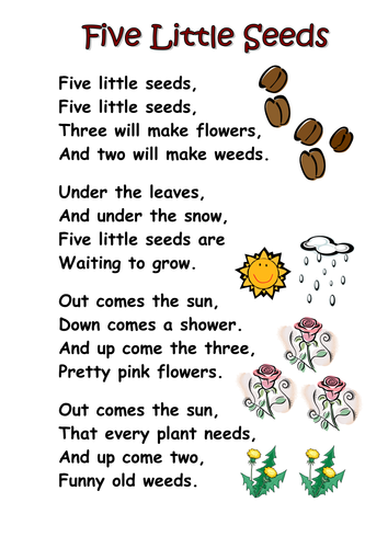 Themed poems ks1 seeds and plants by kcoates teaching for Life of pi character development