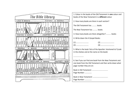 The Bible by duckboytom - Teaching Resources - Tes