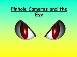 Pinhole cameras and the eye