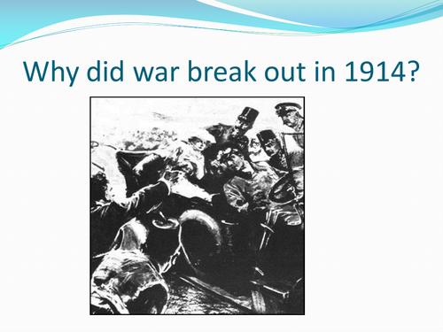 Causes of World War I and Essay Writing by Pepeuk ...