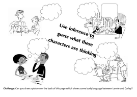Inference Starter Based On Cartoons By Shelly82 Teaching Resources