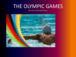 Ancient Olympic Games - RichColton
