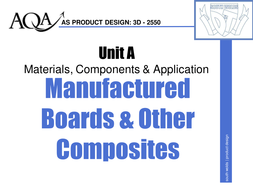 AS Manufactured Boards & Composites Theory.ppt