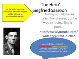 The Hero Siegfried Sassoon