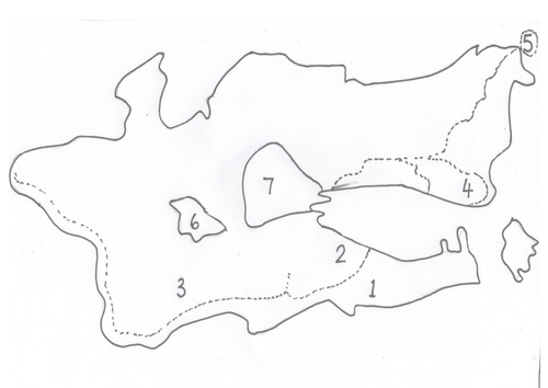 Outline of the Isle of Struay/ Coll and B. Isles by