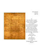 Florence Nightingale letters