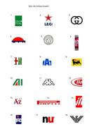 Italian brands/logos quiz